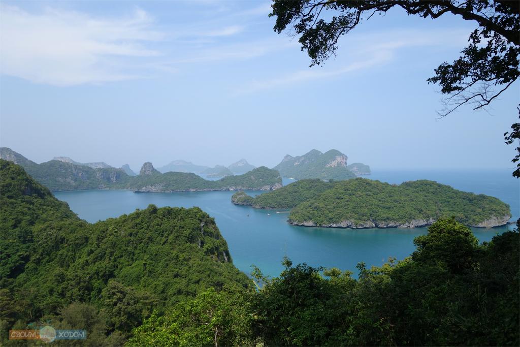Национальный Морской Парк Ангтхонг | Mu Ko Ang Thong National Park | Остров Вуа Талап | Cмотровая площадка на высоте 200 метров