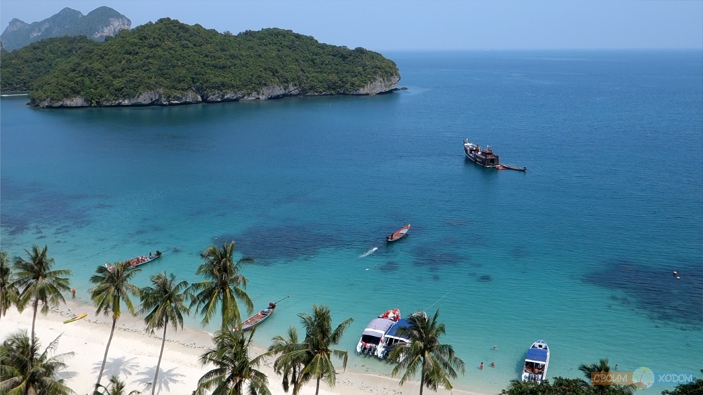 Национальный Морской Парк Ангтхонг | Mu Ko Ang Thong National Park | Остров Вуа Талап | Cмотровая площадка на высоте 100 метров