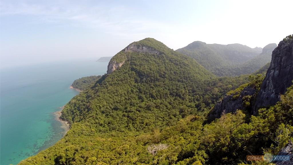 Национальный Морской Парк Ангтхонг | Mu Ko Ang Thong National Park | Остров Вуа Талап | Вид с самой высокой смотровой