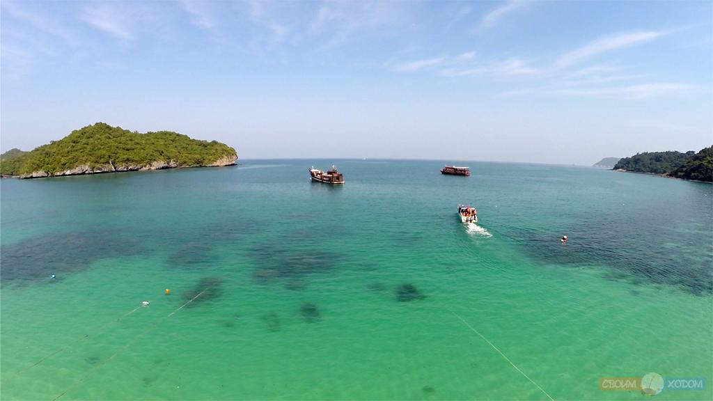 Национальный Морской Парк Ангтхонг | Mu Ko Ang Thong National Park | Остров Вуа Талап
