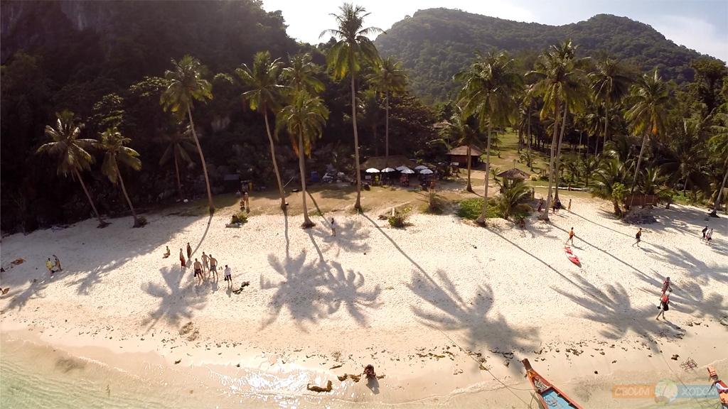 Национальный Морской Парк Ангтхонг | Mu Ko Ang Thong National Park | Пляж острова Вуа Талап