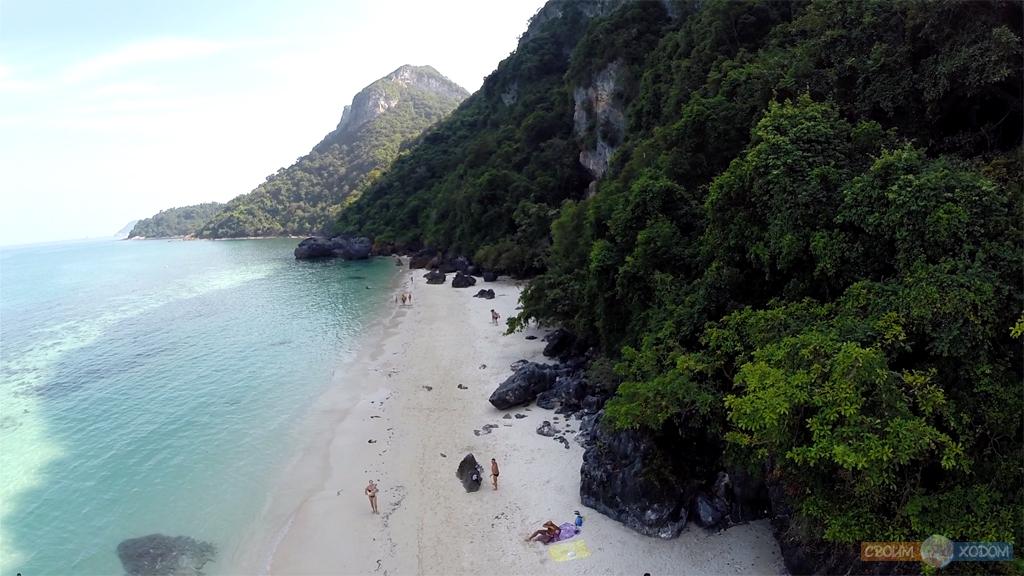 Национальный Морской Парк Ангтхонг | Mu Ko Ang Thong National Park | Пещера Буа Бок (Bua Bok)