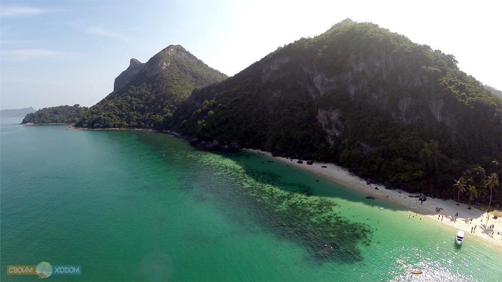 Национальный Морской Парк Ангтхонг | Mu Ko Ang Thong National Park | Вид на остров Вуа Талап с высоты