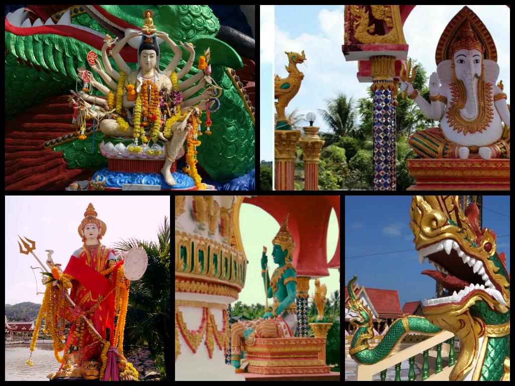 Храмовый комплекс Ват Бан Плай Лаем | Wat Ban Plai Laem