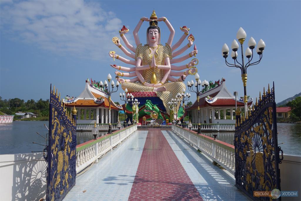 Восемнадцатирукая Гуаньинь (тот самый «многорукий Будда»)