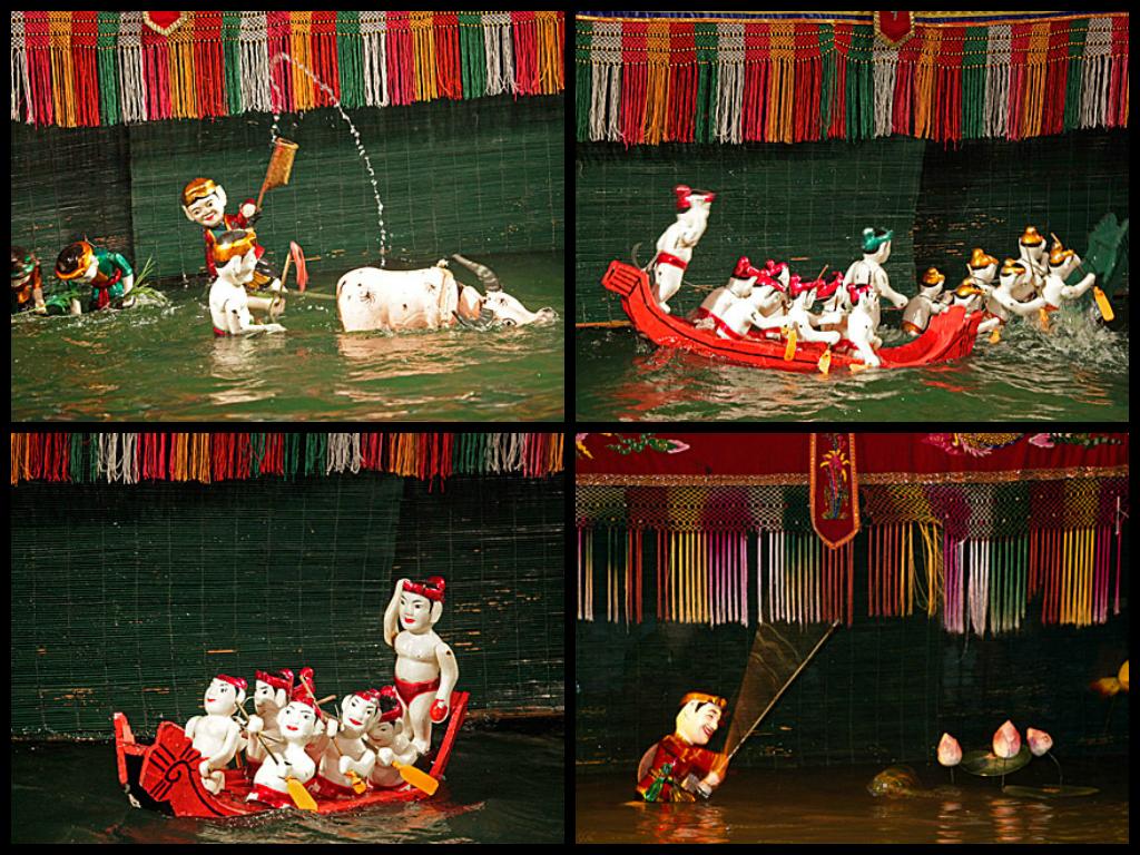 Water Puppet Theatre | Хошимин, Вьетнам