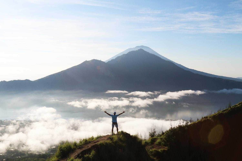 Вулкан Батур. Самостоятельное восхождение